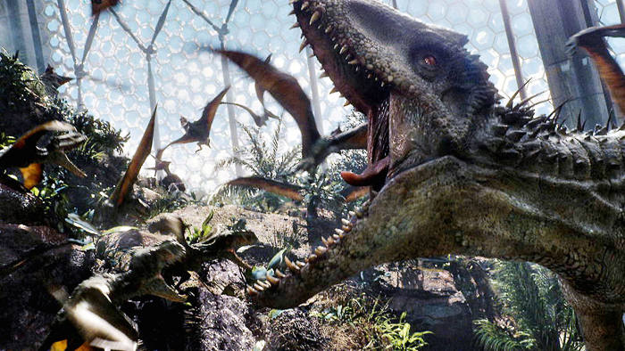 The Indominus Rex in 'Jurassic World'