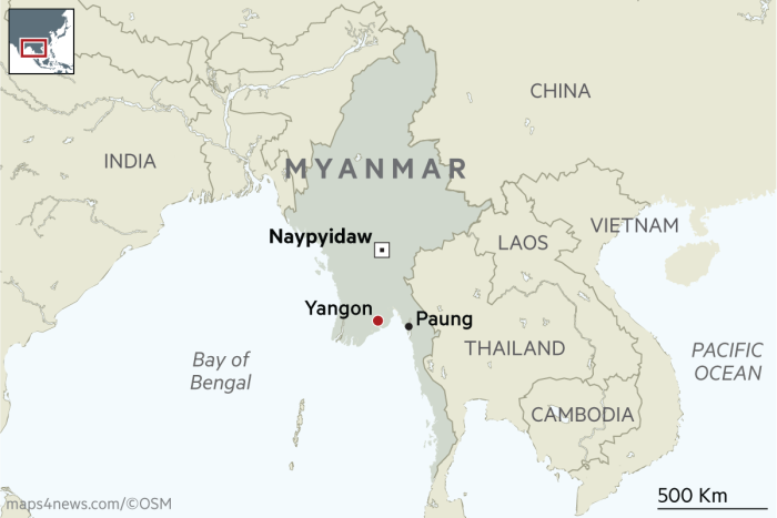 Myanmar political change brings food revolution | Financial Times