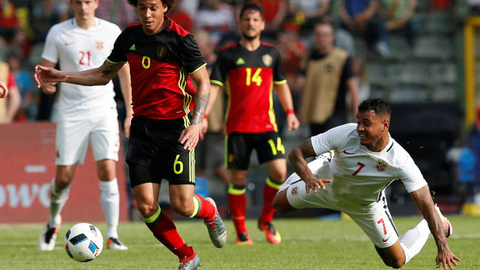 cfcf9c309a1 Belgium looks to football to  save country