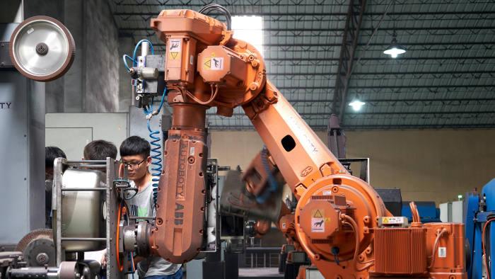 716abd78d China's robot revolution | Financial Times