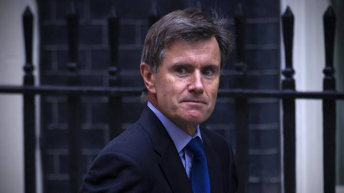 John Sawers, chief of Britain's Secret Intelligence Service (MI6), arrives in Downing Street ahead of a meeting of the National Security Council in central London on August 28, 2013. British Prime Minister David Cameron was set to chair a meeting with top ministers, advisors and defence chiefs of the National Security Council on August 28 to discuss a response to the Syria crisis in the wake of a chemical weapons attack that Washington, London and Paris believe was carried out by the Syrian regime. AFP PHOTO / CARL COURT (Photo credit should read CARL COURT/AFP/Getty Images)