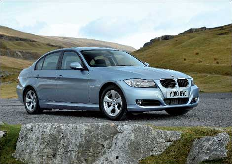 The BMW 320d EfficientDynamics saloon | Financial Times
