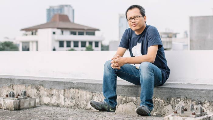Eka Kurniawan, an Indonesian writer