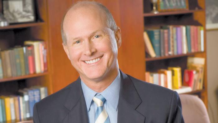 James Dean, dean of the University of North Carolina Kenan-Flagler Business School