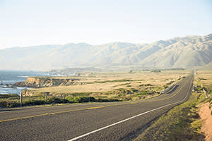Highway 1, the Pacific coast road in California
