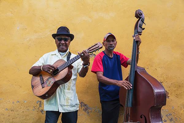 Musicians in Santiago, Cuba