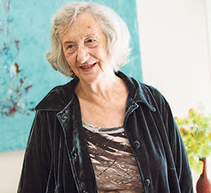 Thea Musgrave at her home in California