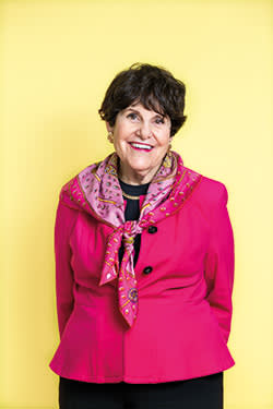 Rosalind Gordon, 73, former career lawyer, Pitney Bowes, currently works four days a week at an outsourcing company