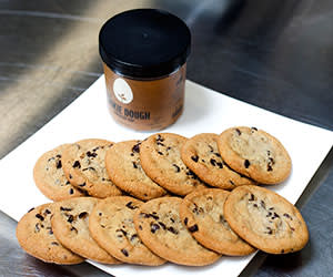 Hampton Creek cookies made from a Canadian yellow pea