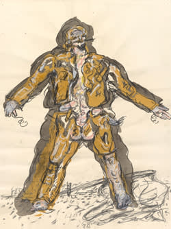 Baselitz's 'Partisan' (1965)