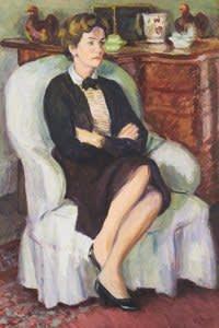 Duncan Grant's 1959 portrait of the Duchess of Devonshire