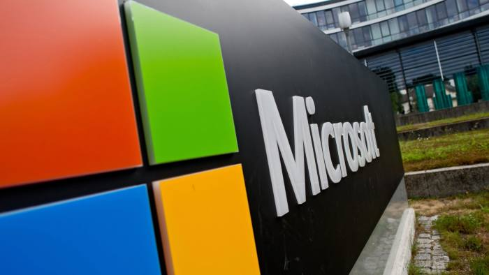 Microsoft is one of just two US companies that have a triple-A rating