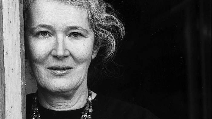 Angela Carter in 1990