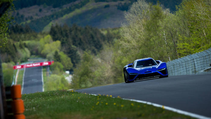 e8ad37ee0527c9 Fastest lap  Nio s EP9 holds the world record on the Nürburgring race  circuit