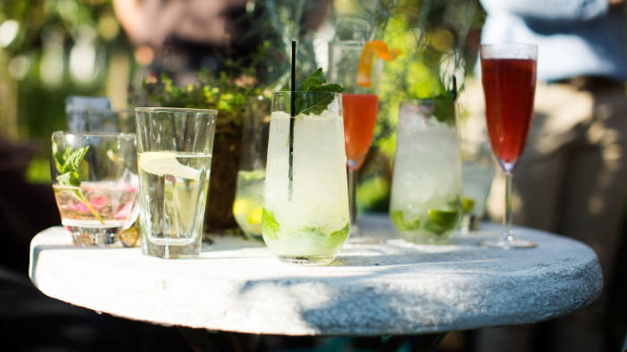 Drinks invented by the FT's cocktail team in honour of 'The Drunken Botanist'