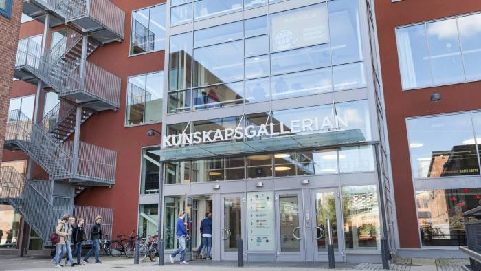 Kunskapsgallerian M7 is something new in the education area. The building is situated in Nacka, south of Stockholm in Sweden. photo: Johan Jeppsson