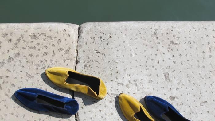 fc0d45f023d Friuli slippers from Pied à Terre on Ruga dei Oresi in Venice © Pied à Terre