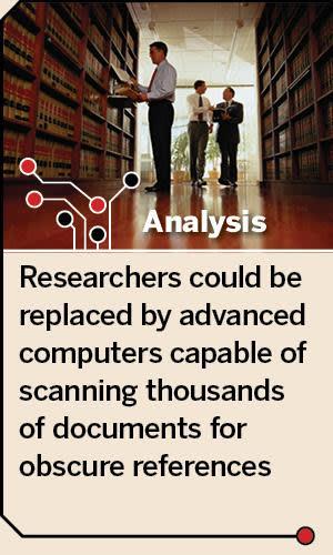Analysis: machine-led research