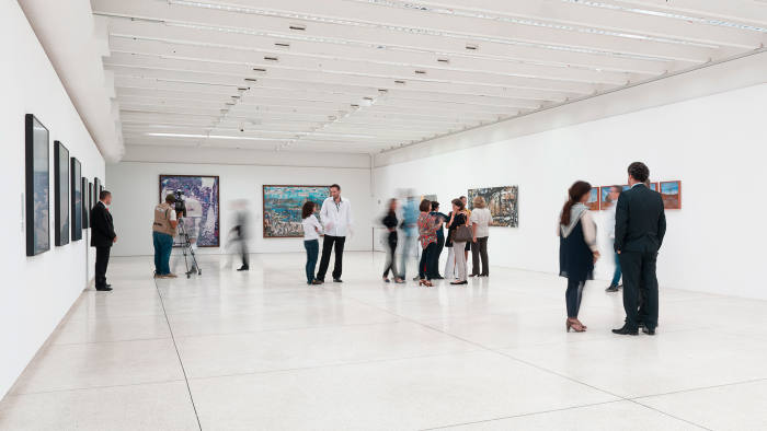 The Oscar Niemeyer Museum's 'Works Under Guard' exhibition
