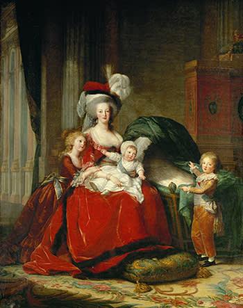 'Queen Marie-Antoinette and Her Children' (1787)