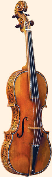 The 'Kreisler' Stradivarius violin of 1733