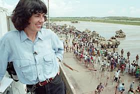Christiane Amanpour in Mogadishu, 1992