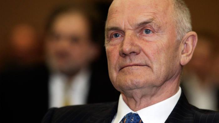 Ferdinand Piëch, former chairman of Volkswagen
