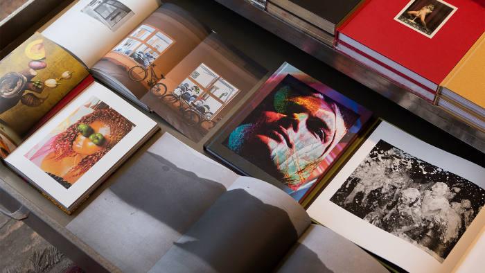 Photobooks at Donlon Books in Hackney, east London, including Lorenzo Vitturi's 'Dalston Anatomy'