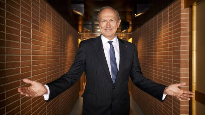 L'Oréal chief executive Jean-Paul Agon is known for his 'open personality' and relentless work ethic