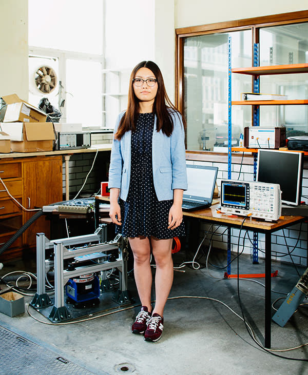 Nan Yue, Studying for a PhD in aeronautics at Imperial College
