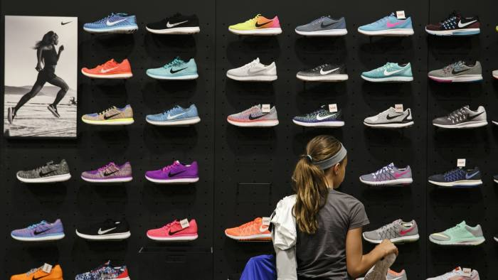 9d6a863b091 Nike re-affirms  50bn sales goal in next five years