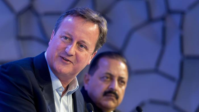 Brexit was a 'mistake, not a disaster', says Cameron | Financial Times