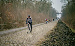 Tom Robbins at Paris-Roubaix 2013