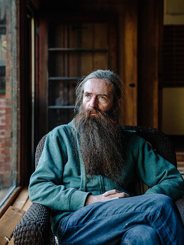 Aubrey de Grey at his Los Gatos home