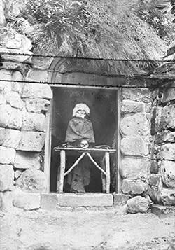 At Hawkstone in Shropshire the 'hermit' was sometimes an automaton