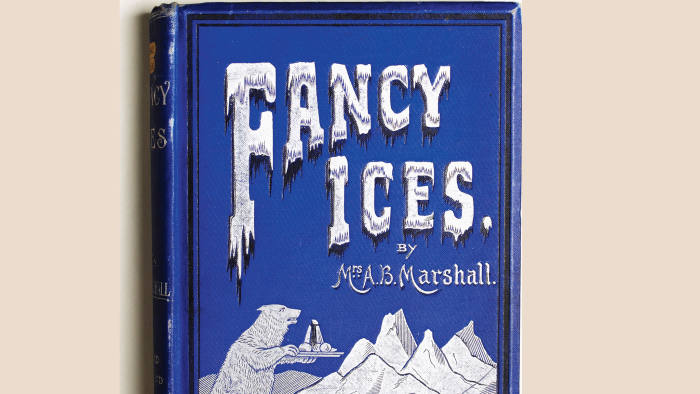 Book cover of 'Fancy Ices'