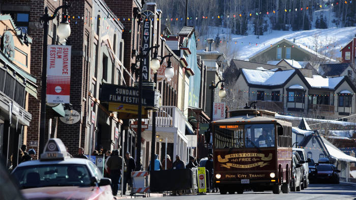 A general view of atmosphere during the 2014 Sundance Film Festival on January 23, 2014 in Park City, Utah