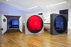 Podtime sleeping pods which cater to office workers