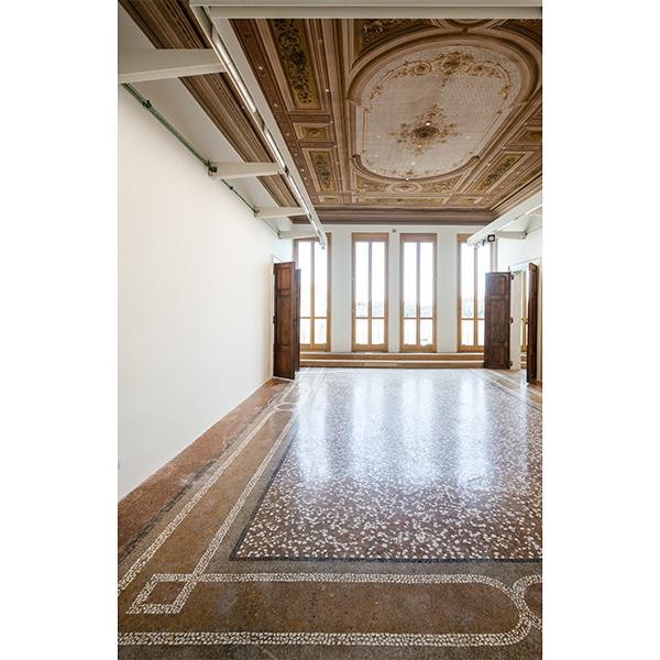 A room in the Palazzo delle Zattere, site of the V-A-C Foundation