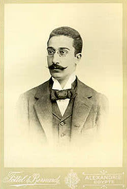 C P Cavafy: Greek poet of the early 20th century