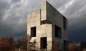 Elemental's Innovation Centre at San Joaquín Campus, Universidad Católica de Chile, Santiago, Chile