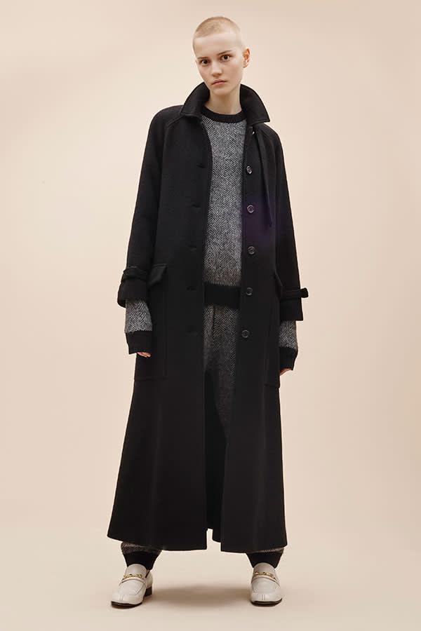 Looks from Joseph's pre-fall collection now in stores, featuring shoes priced from £415