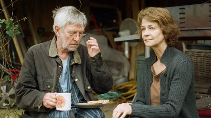 Tom Courtenay and Charlotte Rampling in '45 Years'