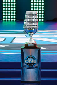 The cup at the event, which was won by Team Secret