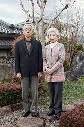The Shins at their home in the village of Inukai, where one-third of residents are over 65
