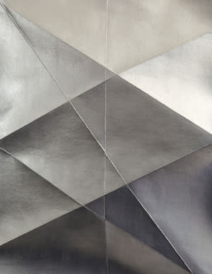 'Silver Paper #6' (2012), by Erin O'Keefe