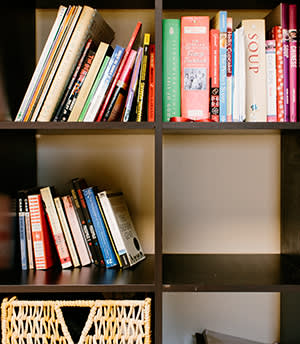 Collection of travel and cookery books