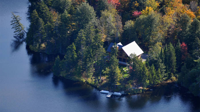 Secluded three-bedroom home