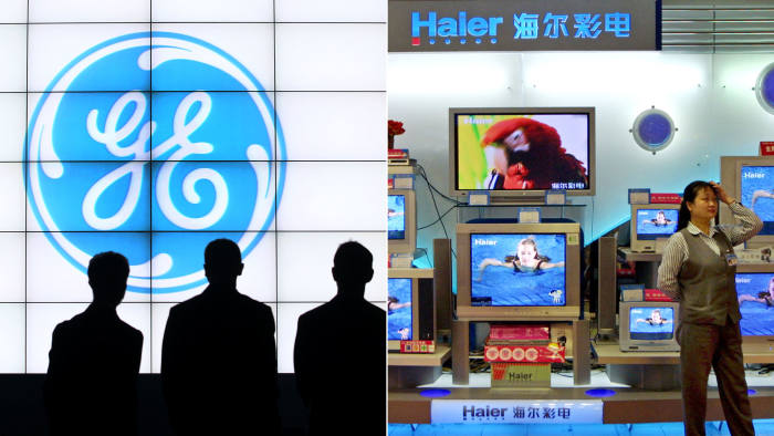 Composite picture of GE and Haier