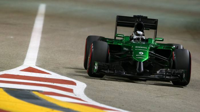 Caterham went into administration earlier this month